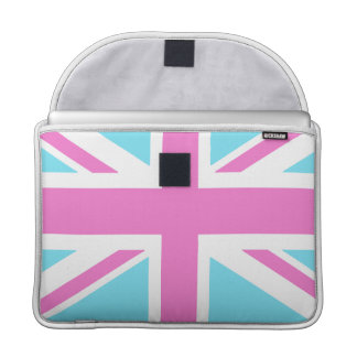 Pretty Pastels Union Flag Macbook 15 Inch Cover Sleeve For MacBook Pro