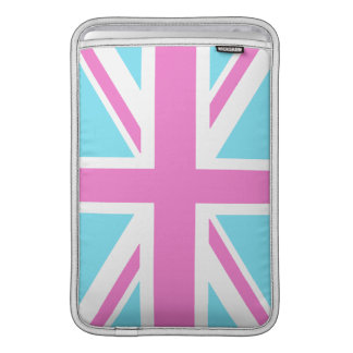 Pretty Pastels Union Flag Macbook Air Sleeve