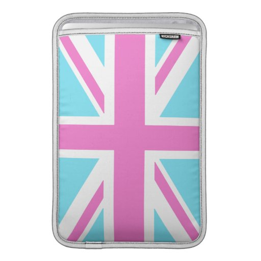 Pretty Pastels Union Flag Macbook Air Sleeve