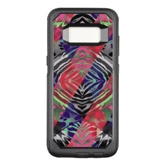Pretty Paws Zebra Florescent Abstract OtterBox Commuter Samsung Galaxy S8 Case