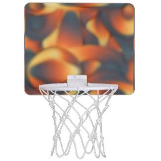Pretty Peach Mini Basketball Hoop