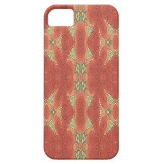 Pretty Peach Tribal Pattern. Case For The iPhone 5