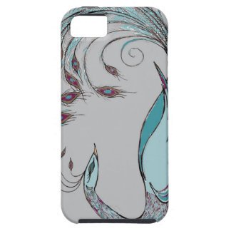 Pretty Peacock Case For The iPhone 5