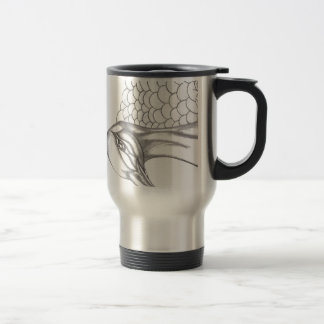 Pretty Peacock Travel Mug