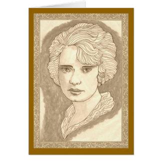 Pretty Peggy Card