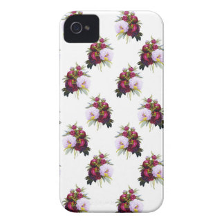 Pretty Peonies Pattern Case-Mate iPhone 4 Cases