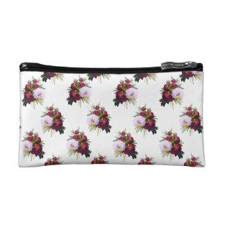 Pretty Peonies Pattern Cosmetic Bag