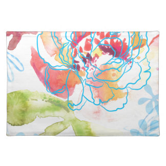 Pretty Peony Placemat