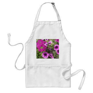Pretty Petunias and Flowers Standard Apron