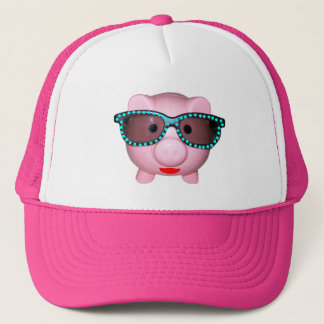 Pretty Piggy Trucker Hat