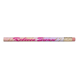 Pretty Pink and Gold Pencil