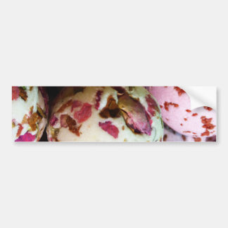 Pretty Pink and Marbled Bath Bombs - Beauty Print Bumper Sticker