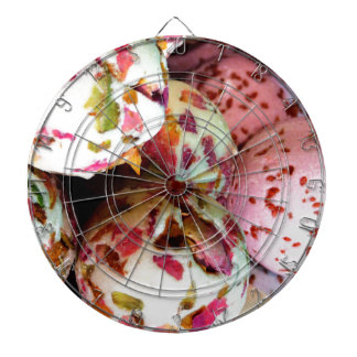 Pretty Pink and Marbled Bath Bombs - Beauty Print Dartboard With Darts
