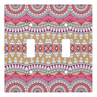 Pretty Pink and Mint Mandala | Light Switch Cover
