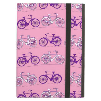 Pretty Pink and Purple Vintage Bicycle Bikes Print Case For iPad Air