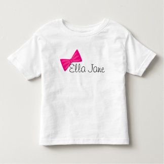 Pretty Pink Bow Toddler T-shirt