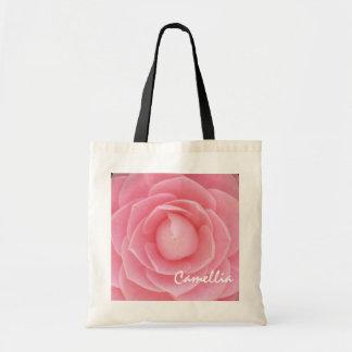 Pretty Pink Camellia Budget Totebag Tote Bag