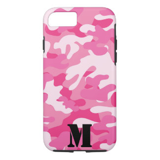 Pretty Pink Colors Camouflage Pattern iPhone 8/7 Case