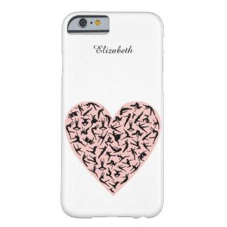 Pretty Pink Dance Heart iPhone 6 Case