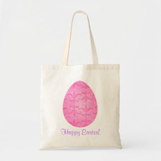 Pretty pink Easter egg Tote Bag
