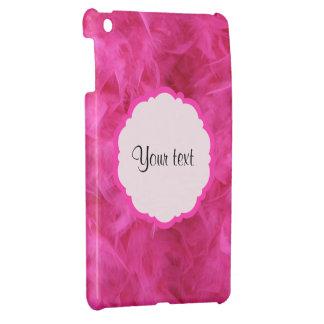 Pretty Pink Feathers iPad Mini Cover