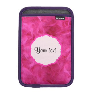 Pretty Pink Feathers Sleeve For iPad Mini