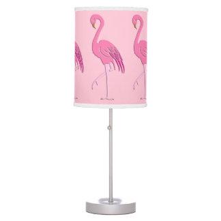 Pretty pink flamingo desk lamp