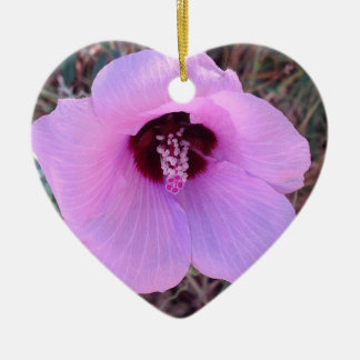 Pretty pink floral ornament