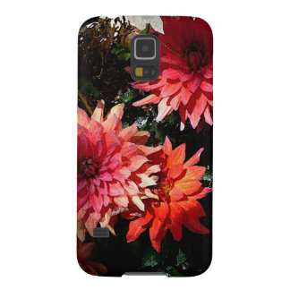 Pretty Pink Floral Samsung S5 Phone Case