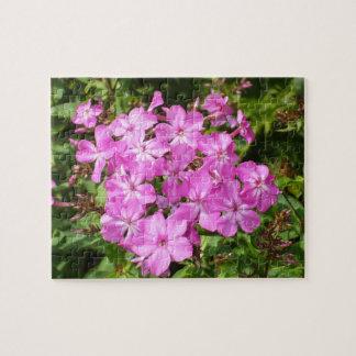 Pretty Pink Flower Bouquet Jigsaw Puzzle