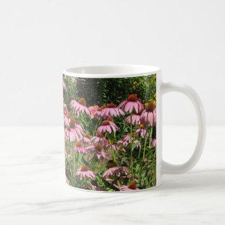 Pretty Pink Flower Garden Coffee Mug