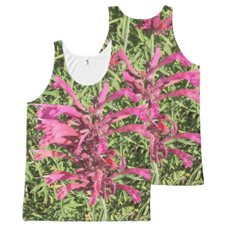 Pretty Pink Flowers All-Over-Print Tank Top