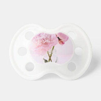 Pretty Pink Flowers Baby Pacifier