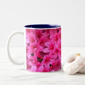 Pretty Pink Flowers Mug