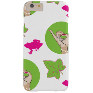 Pretty Pink Frog Barely There iPhone 6 Plus Case