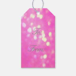 Pretty Pink Gift Tags