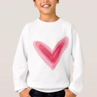 Pretty Pink Heart Print, Beautiful Spring Love Hea Sweatshirt