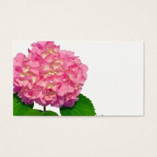 Pretty Pink hydrangea  business card