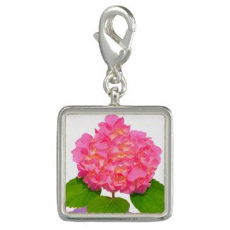 Pretty Pink Hydrangeas Charms