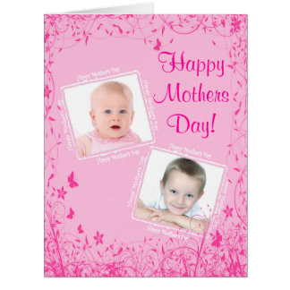 Pretty pink instagram template mothers day
