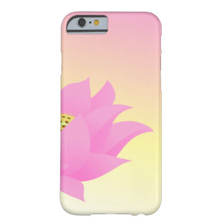 Pretty Pink Lotus Flower Barely There iPhone 6 Case
