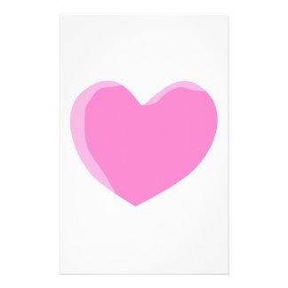 Pretty Pink Love Heart. Flyer