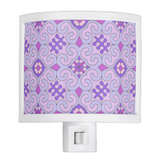 Pretty Pink Patterned Night Light