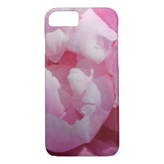 Pretty Pink Peony Floral Photo iPhone 8/7 Case