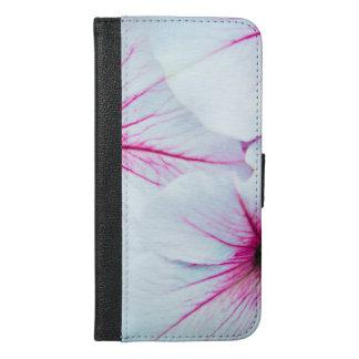 Pretty Pink Petunias iPhone 6/6s Plus Wallet Case