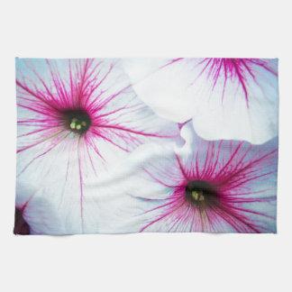 Pretty Pink Petunias Towel