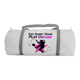 PRETTY PINK PLAYING SOCCER DESIGN