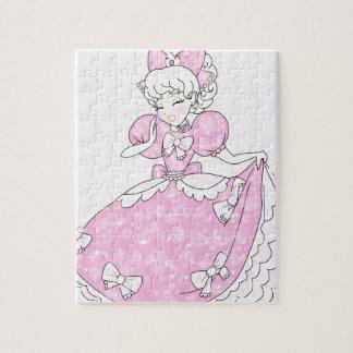 Pretty Pink Princess Jigsaw Puzzle
