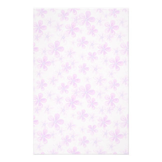 Pretty Pink & Purple Daisies Stationery