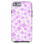 Pretty Pink & Purple Daisies Tough iPhone 6 Case
